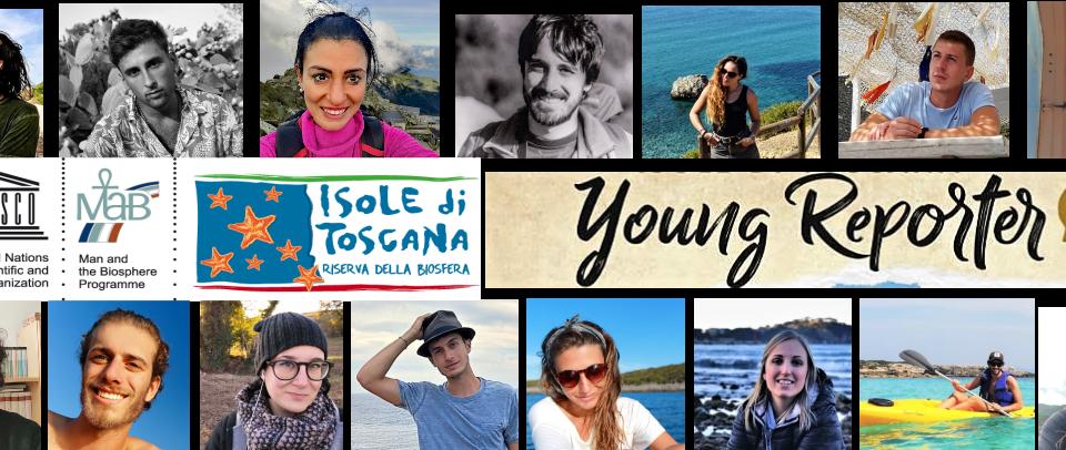 Young Reporter progetto Riserva di Biosfera Isole di Toscana
