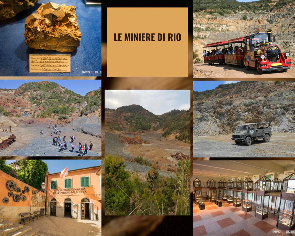 Cose da fare nella Riserva di Biosfera isole di Toscana Miniere di Rio