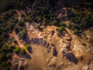 Riserva della Biosfera Isole di Toscana - caleidozio dall'alto