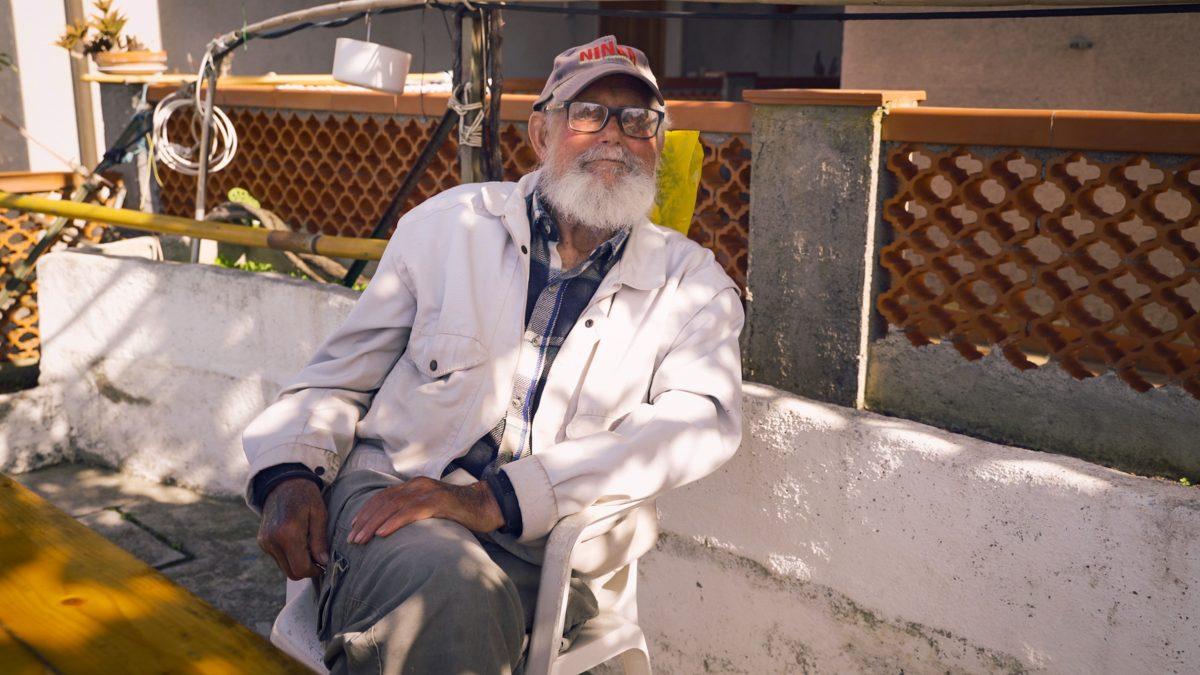 Gaetano Pini, pescatore professionista nativo dell'isola del Giglio